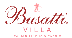 Busatti Villa in Atlanta for beautifully crafted Italian fabric and linens. Natural fibers, warm colors, defining details-enriching life since 1842.